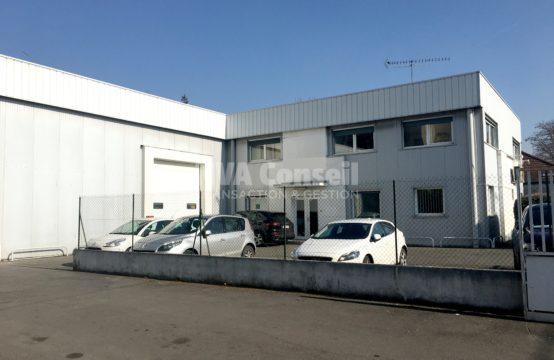 Bâtiment indépendant – 790 m² sur 2150 m² de terrain